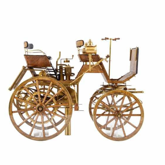 3-teilig Konvolut Modelle von Motoren- und Reitwagen, 20. Jahrhundert - Foto 5