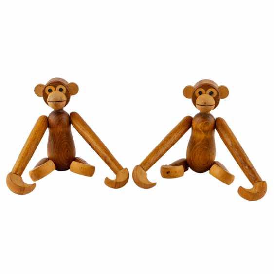 """BOJESEN, KAY ( attribuiert) """"Zwei Affen"""" - Foto 1"""