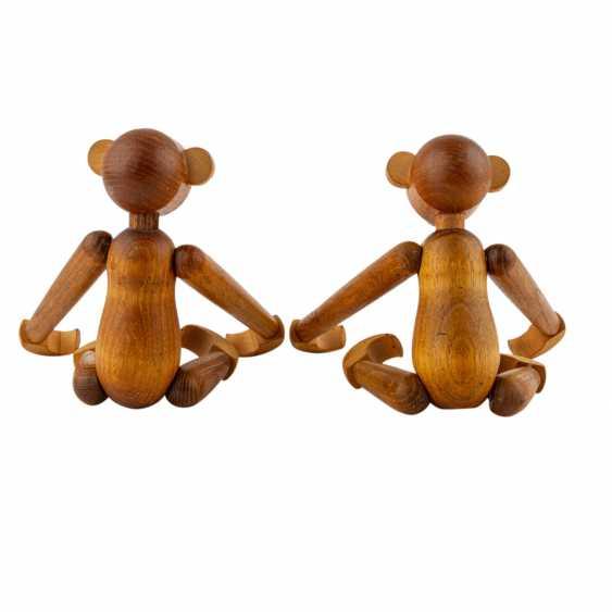 """BOJESEN, KAY ( attribuiert) """"Zwei Affen"""" - Foto 2"""