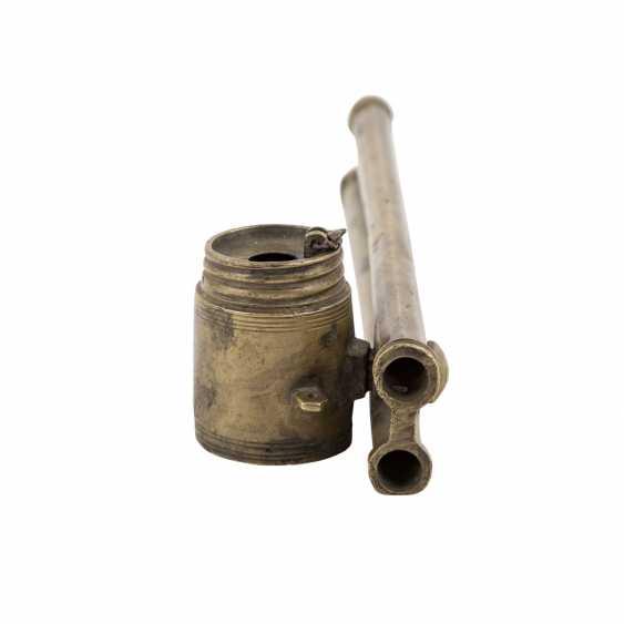 Schreibzeug aus Messing. ORIENT, um 1900. - Foto 2
