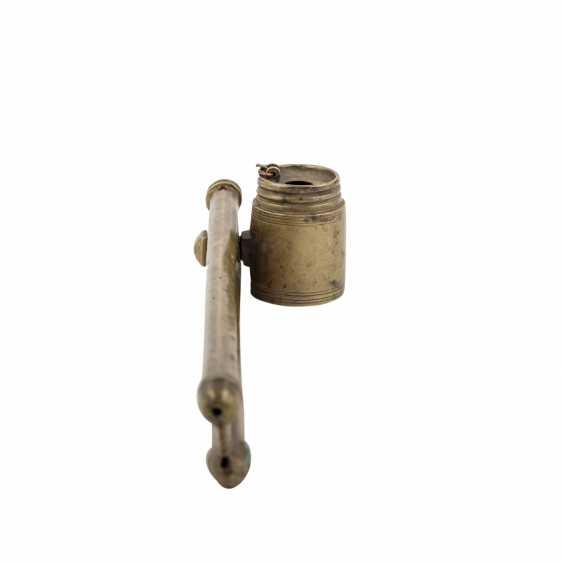 Schreibzeug aus Messing. ORIENT, um 1900. - Foto 4