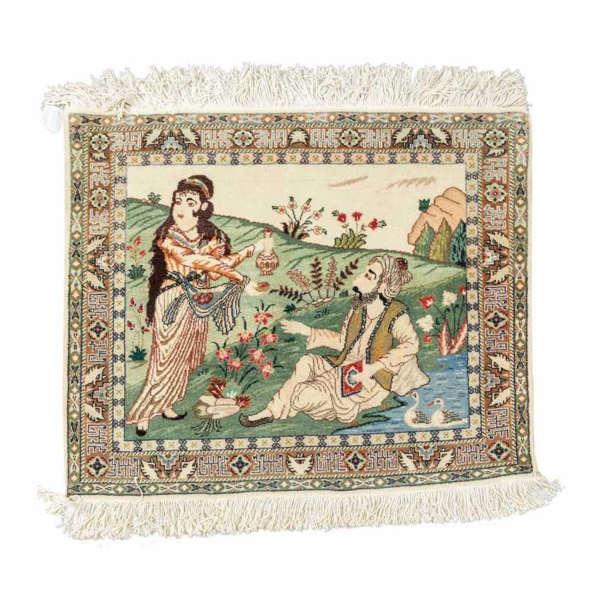Orientteppich. PERSIEN, 20. Jahrhundert, ca. 82x100 cm. - Foto 1