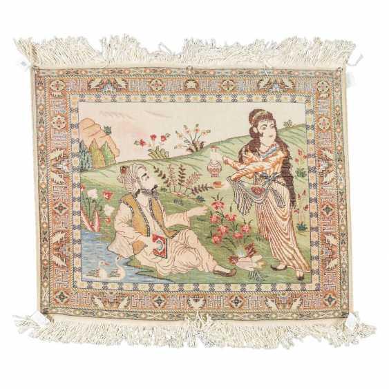 Orientteppich. PERSIEN, 20. Jahrhundert, ca. 82x100 cm. - Foto 2