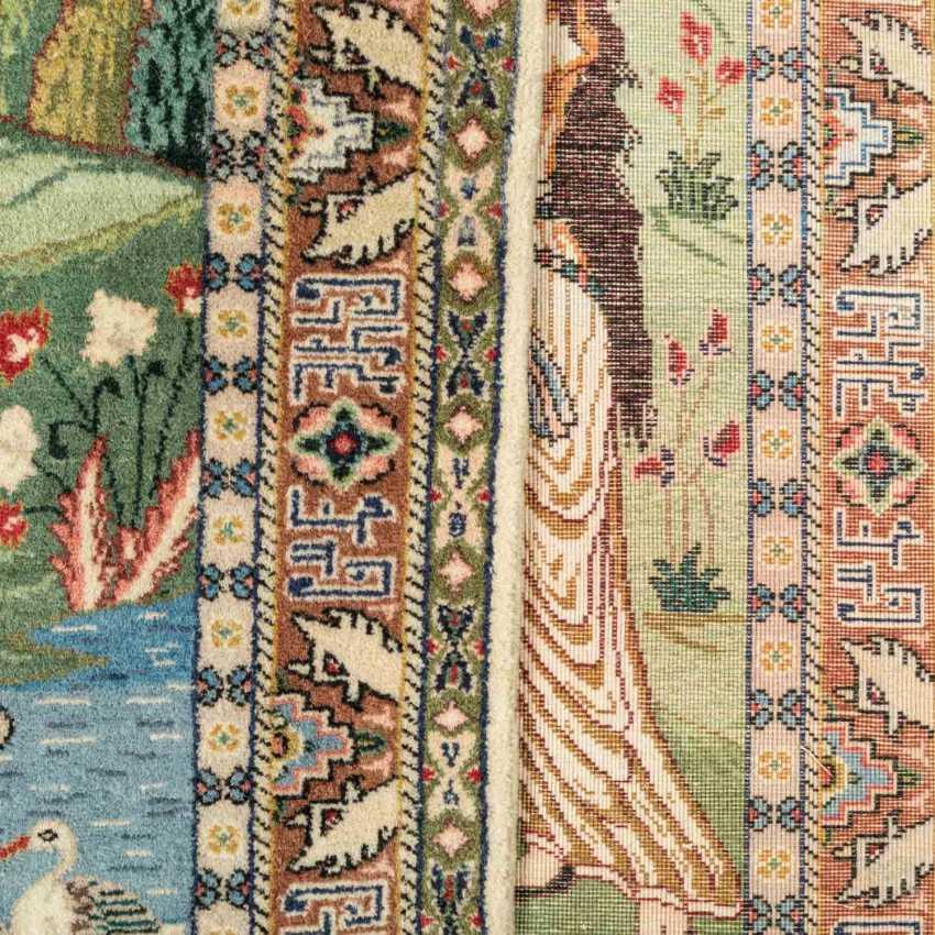 Orientteppich. PERSIEN, 20. Jahrhundert, ca. 82x100 cm. - Foto 3