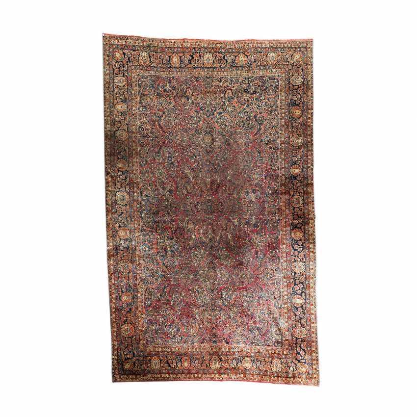 Orientteppich. SARUK/PERSIEN, 1. Hälfte 20. Jahrhundert, ca. 548x348 cm. - Foto 1