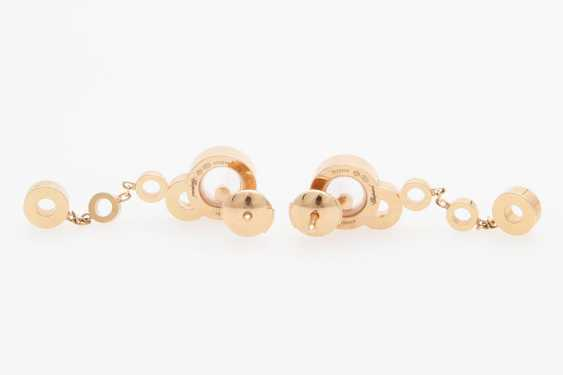 "CHOPARD ""Happy Bubbles"" earrings/- - photo 2"