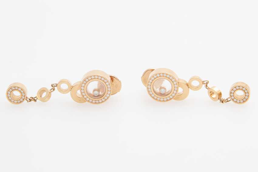 "CHOPARD ""Happy Bubbles"" earrings/- - photo 1"