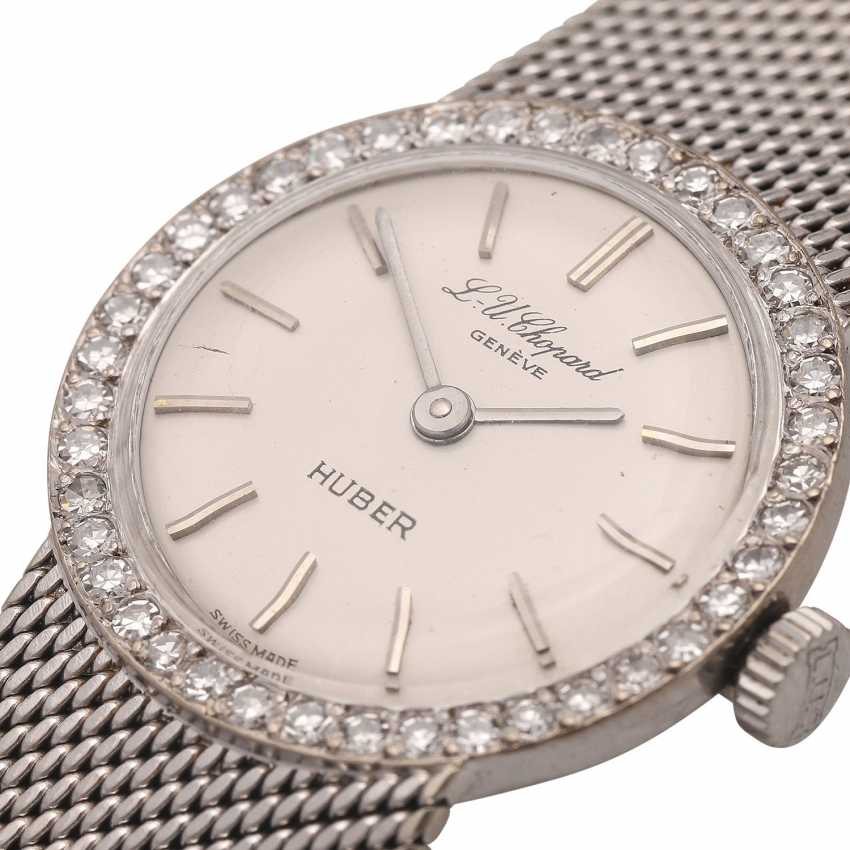 eb9b053008cd6 CHOPARD Vintage ladies ' watch, approximately 60/70s. White gold. - photo