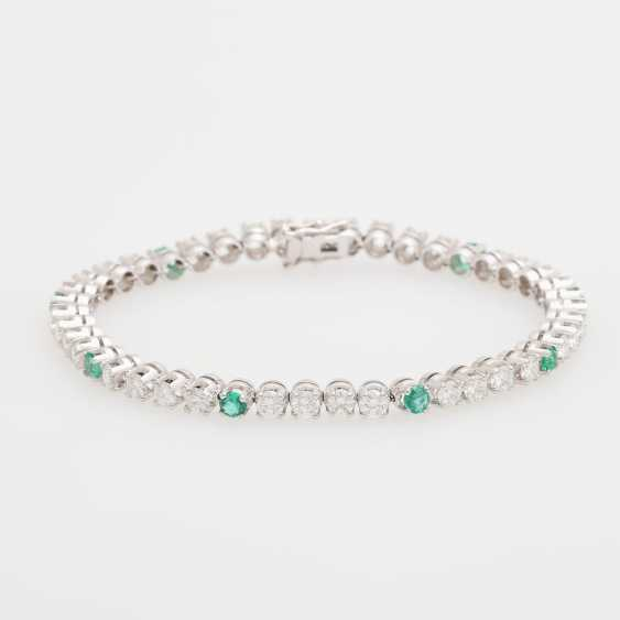 Bracelet set with 36 Diam.- Brilliant
