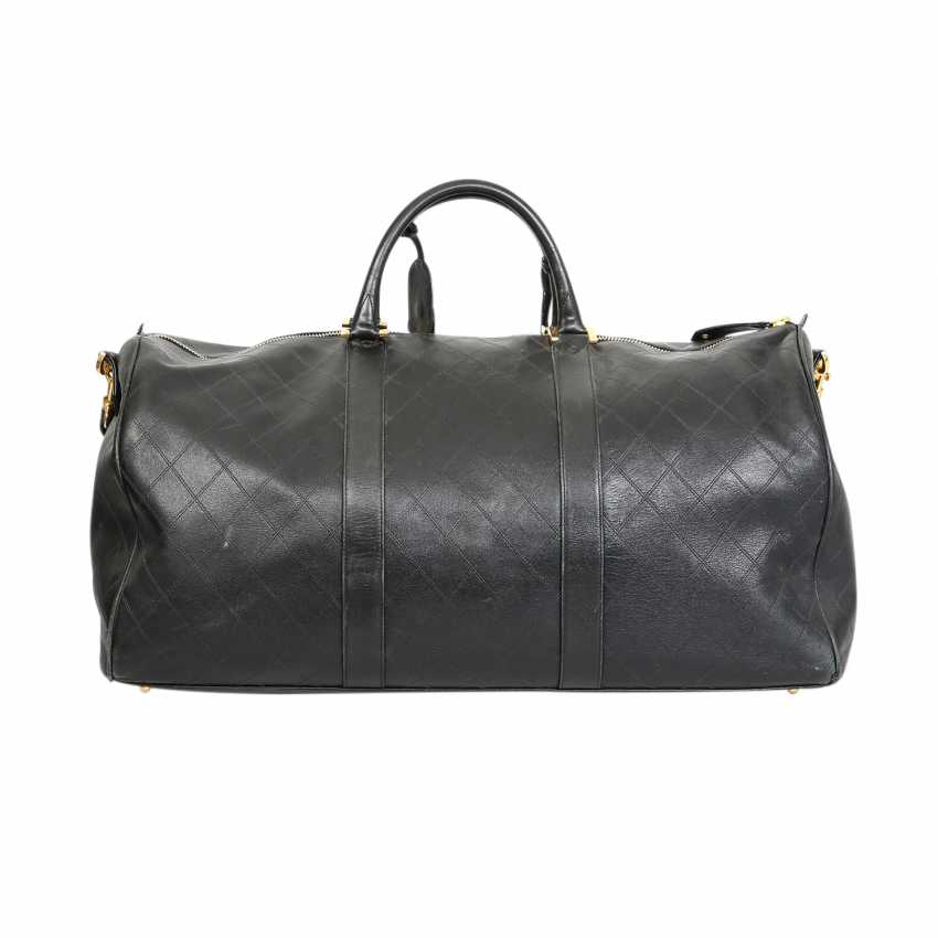 56ff35ceaccb Lot 58. CHANEL VINTAGE Weekender. from the catalog