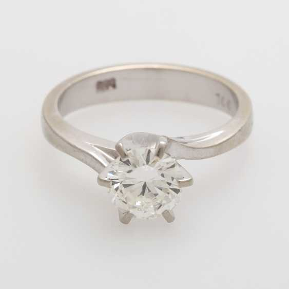 Solitaire Ring with a Diam.- Brilliant - photo 1