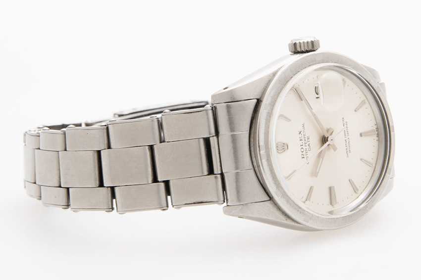 "ROLEX men's watch ""Oyster Perpetual Date"", 1960s - photo 2"