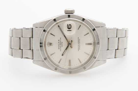 "ROLEX men's watch ""Oyster Perpetual Date"", 1960s - photo 1"