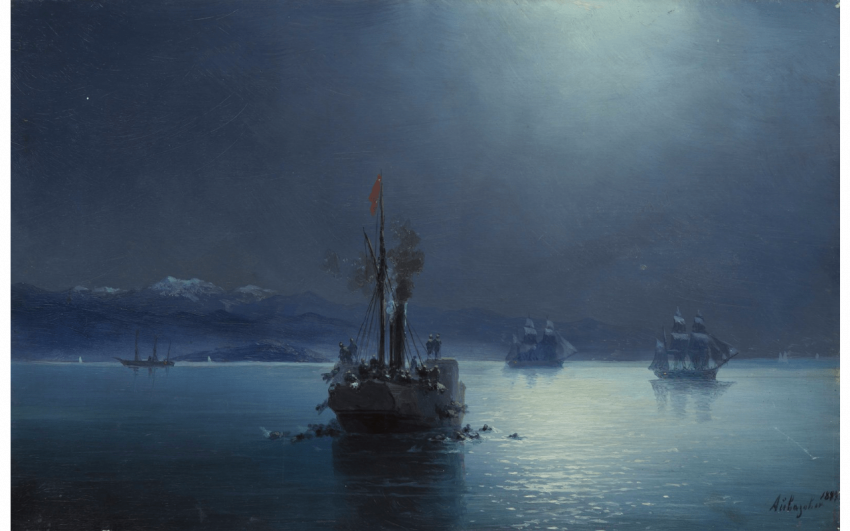 AIVAZOVSKY IVAN CONSTANTINOVITCH (1817-1900) - photo 1