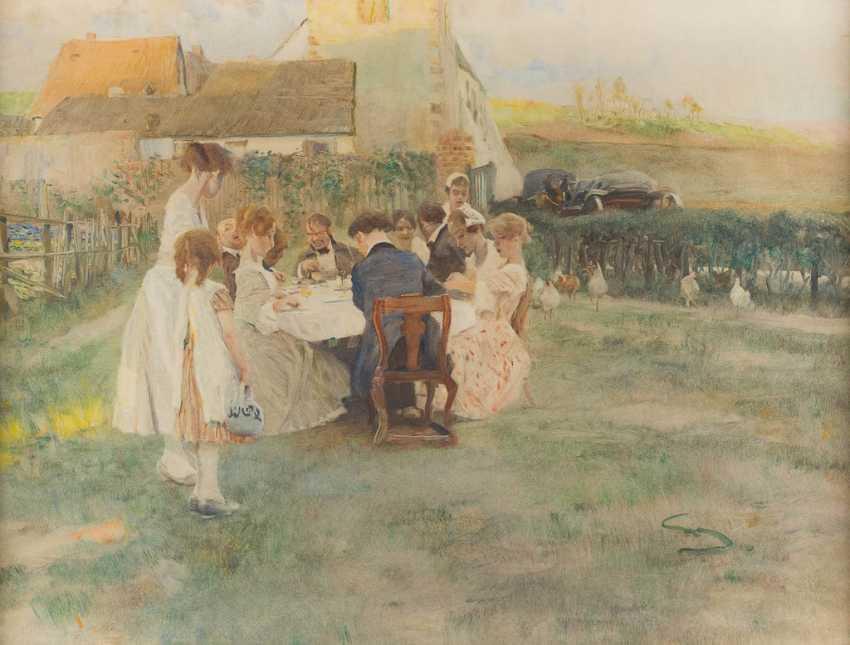 ВИЛЬГЕЛЬМ SCHREUER 1866 Везель - 1933 Дюссельдорф - фото 1