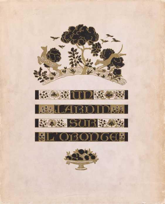 МОРИС БАРРЕС 1862 Прелести - 1923 Neuilly-sur-Seine САД НА ОРОНТ - фото 1
