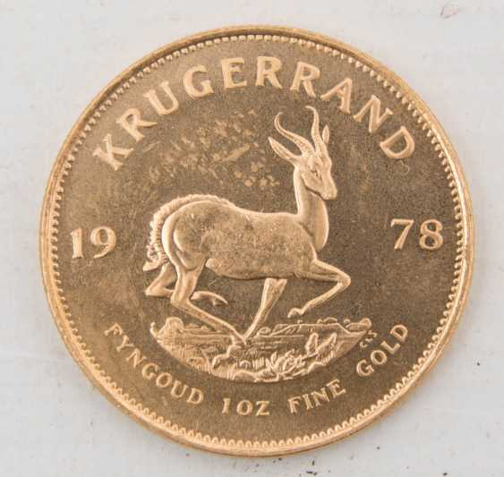 Auction Krugerrand 1oz 917 1000 Gold
