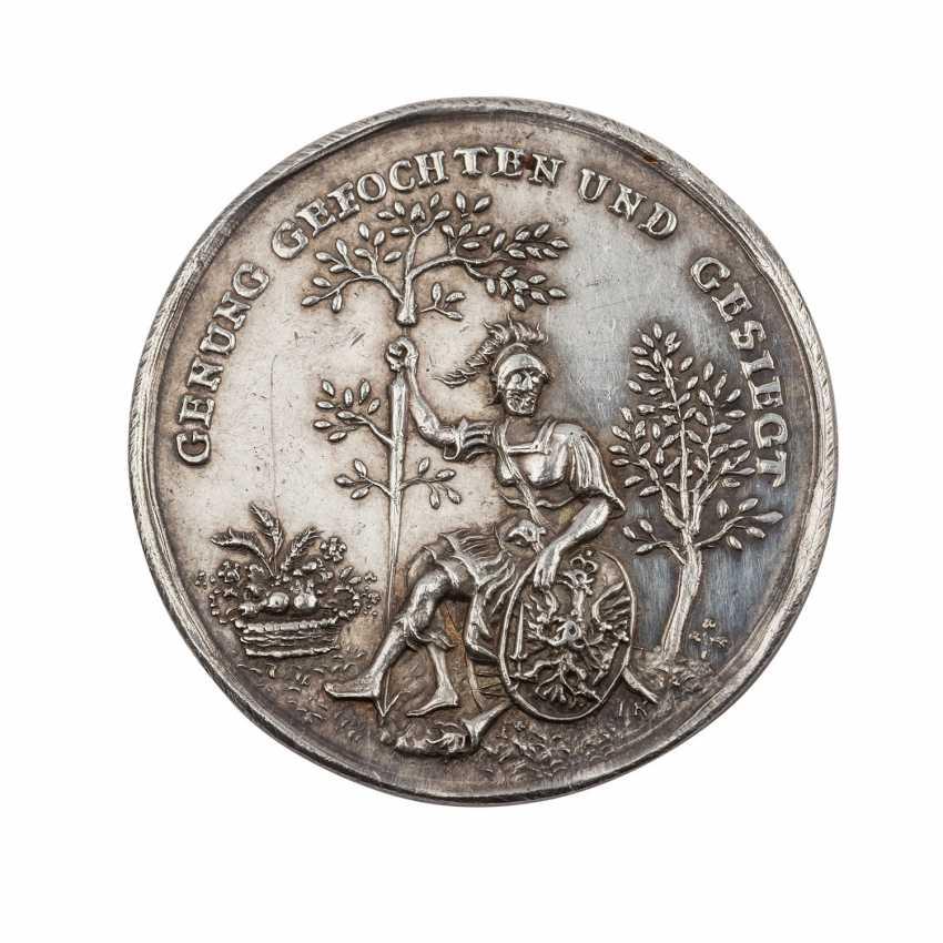 Lot 47  Brandenburg-Prussia - silver medal 1763, Frederick