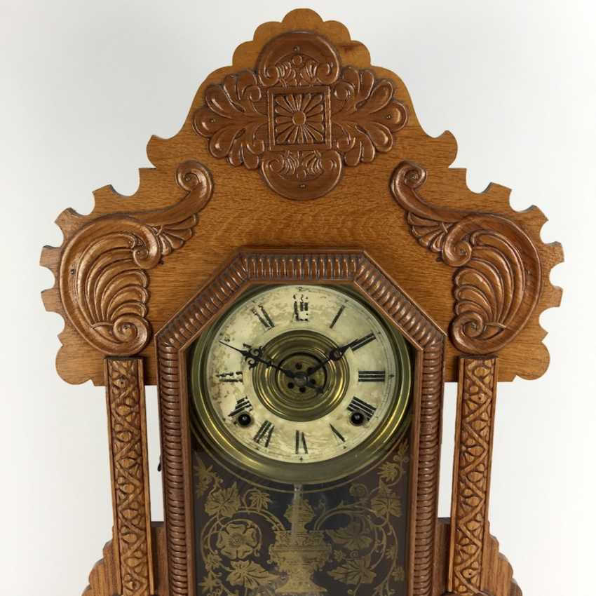 Portal-PM / Aufsatzuhr: wood case, Boston, manufactured by The E. Ingraham co., around 1900, very good. - photo 2