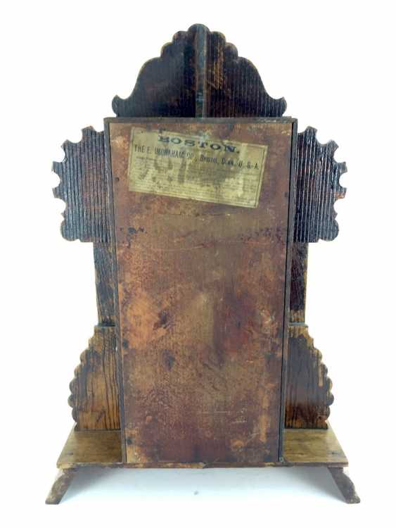 Portal-PM / Aufsatzuhr: wood case, Boston, manufactured by The E. Ingraham co., around 1900, very good. - photo 3