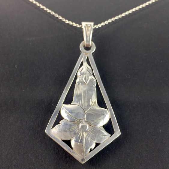 Costume pendants/ pendants Charivari: hand, stainless, white, silver 900, very nice. - photo 1