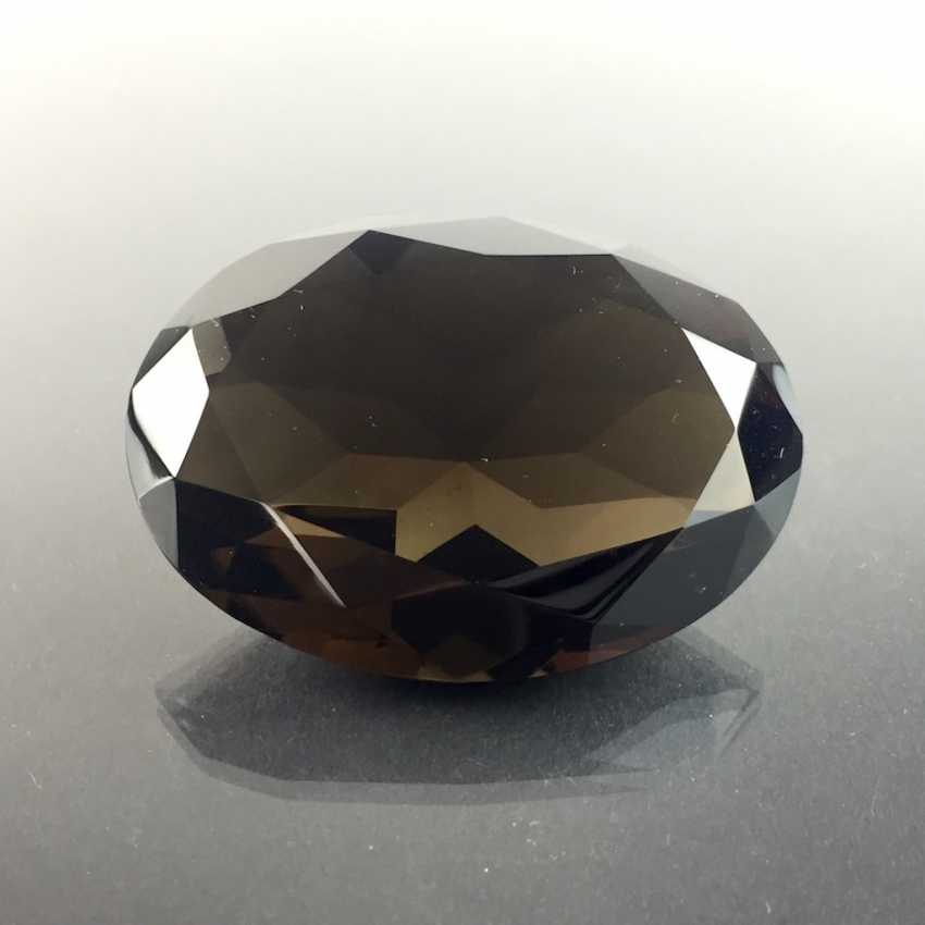 Great except great smoky quartz: faceted, 213 carats. - photo 1