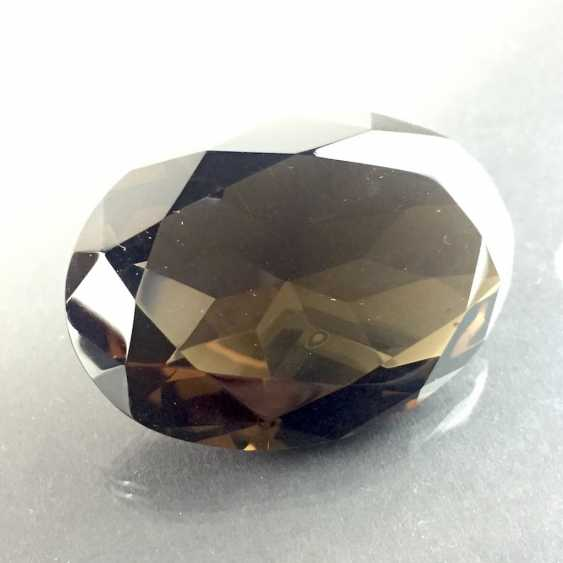 Great except great smoky quartz: faceted, 213 carats. - photo 2