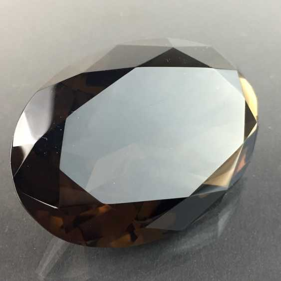 Great except great smoky quartz: faceted, 213 carats. - photo 3