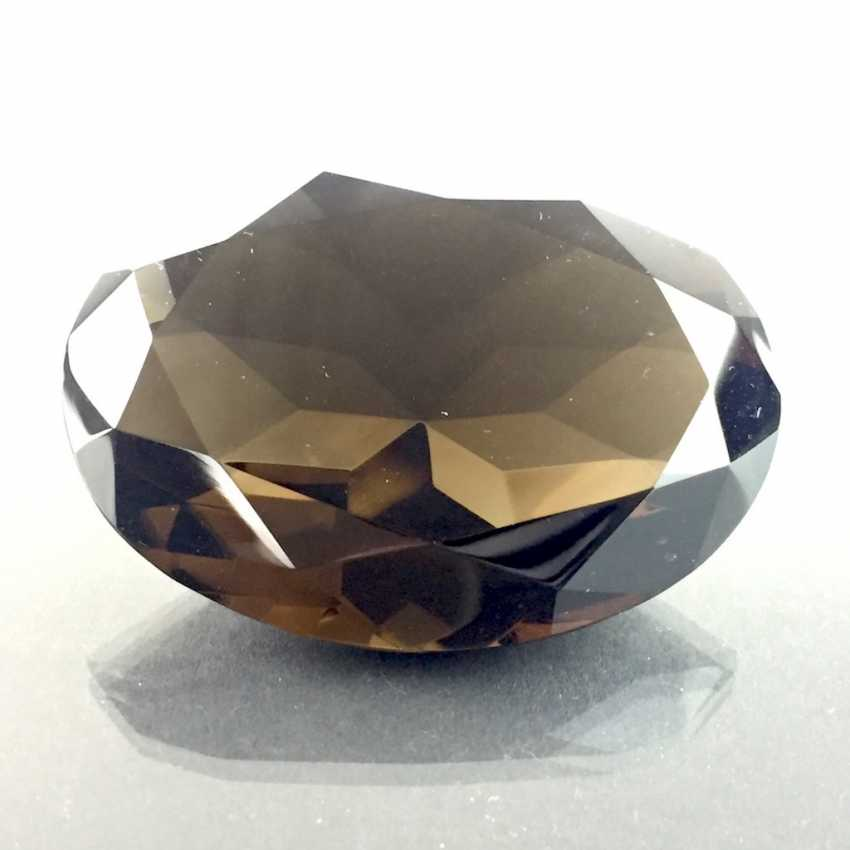 Great except great smoky quartz: faceted, 213 carats. - photo 4