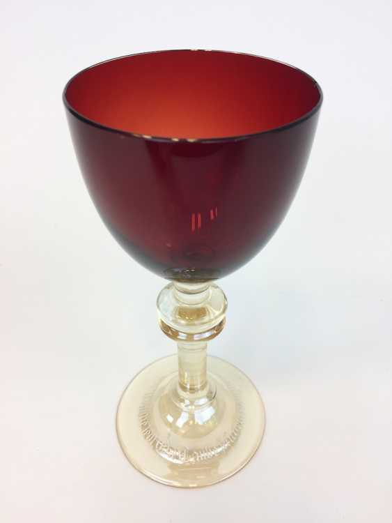 Blood Cup / Lodge Cup / Lodge Glass: Honor Gift Parsifal. Siegfried Haertel for schleißheim took hut, Szklarska poręba, 1912. - photo 2