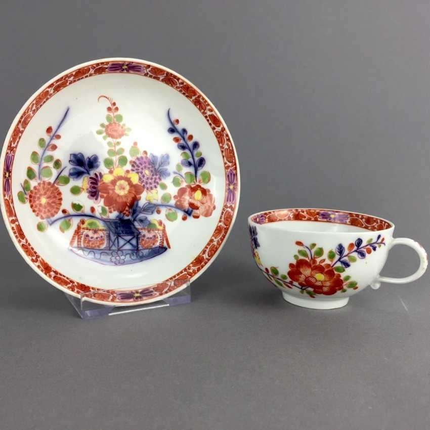 Rare Cup: Meissen Porcelain, 1730 - 1735. Table pattern. Very rare and very good. - photo 1