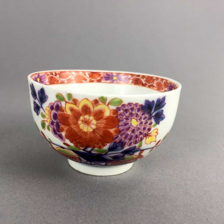 Rare Cup: Meissen Porcelain, 1730 - 1735. Table pattern. Very rare and very good. - photo 3