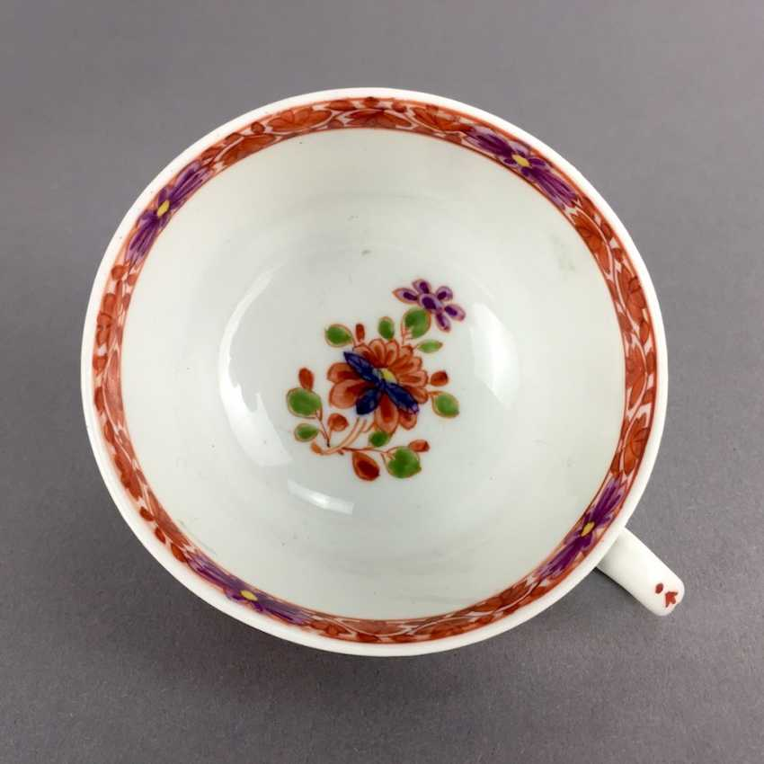 Rare Cup: Meissen Porcelain, 1730 - 1735. Table pattern. Very rare and very good. - photo 4