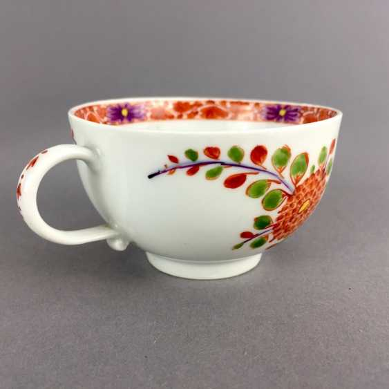 Rare Cup: Meissen Porcelain, 1730 - 1735. Table pattern. Very rare and very good. - photo 5