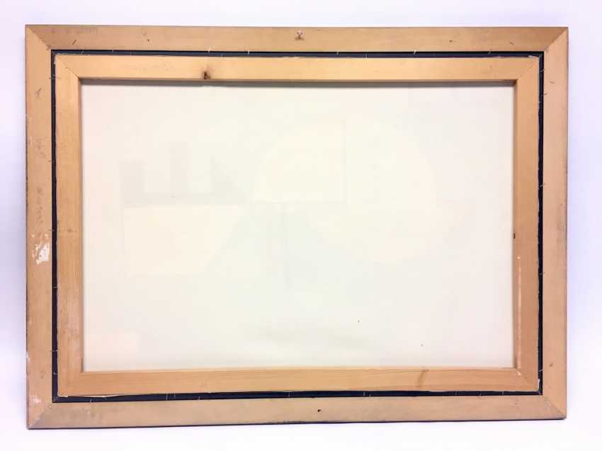 Zdnland: Oil on canvas in a wooden frame. Without A Title. - photo 3