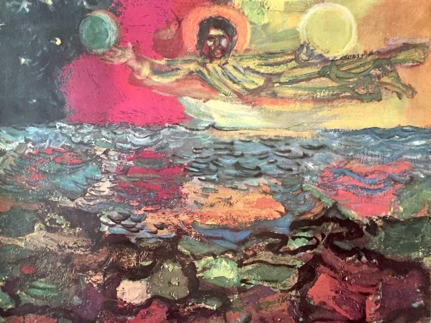 Hans Stocker, Simone Martini, master of Mondsee, Paul Gauguin, Marc Cagall: five high-quality art prints. - photo 1