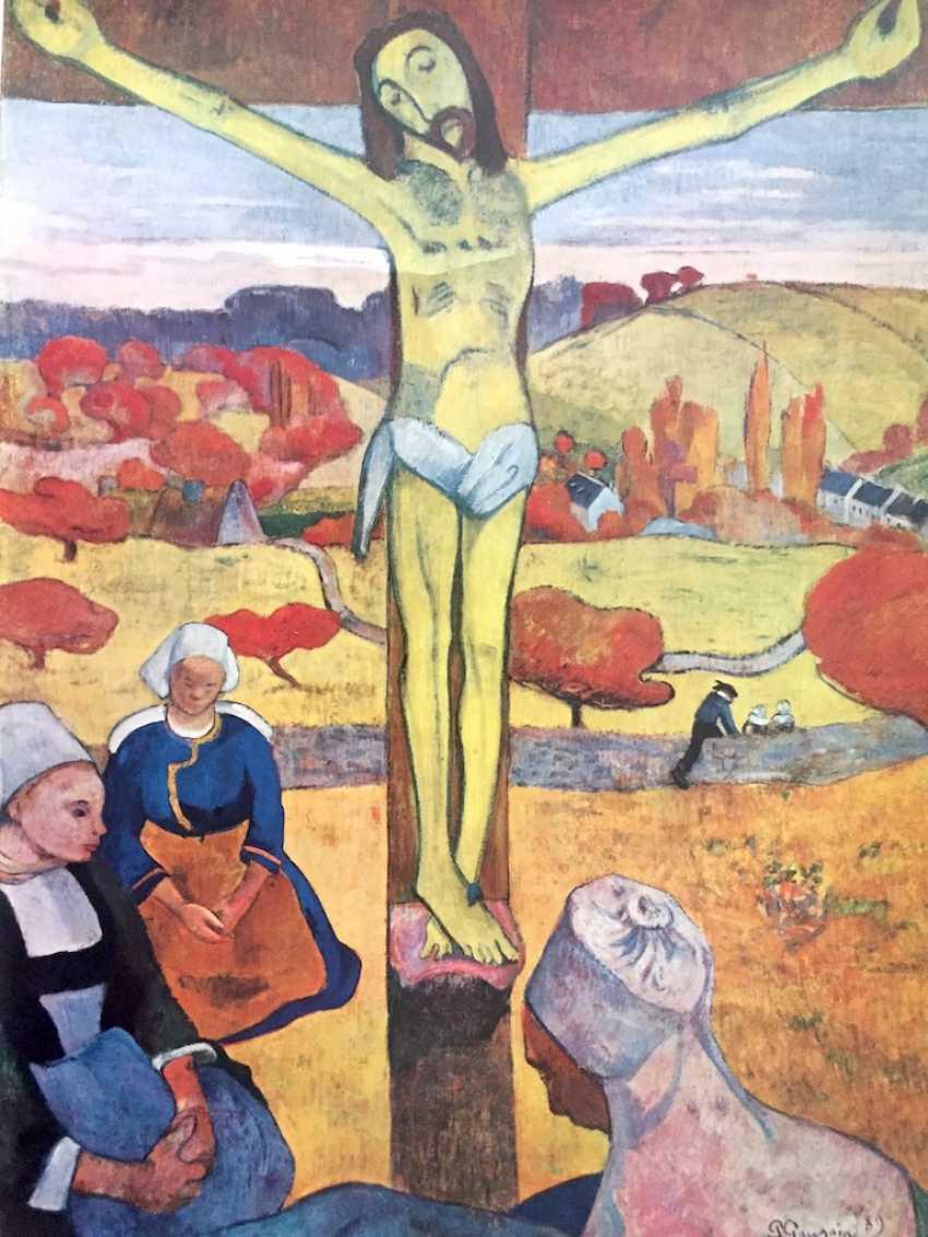 Hans Stocker, Simone Martini, master of Mondsee, Paul Gauguin, Marc Cagall: five high-quality art prints. - photo 3