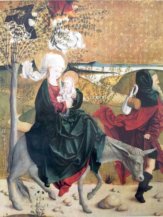 Hans Stocker, Simone Martini, master of Mondsee, Paul Gauguin, Marc Cagall: five high-quality art prints. - photo 5