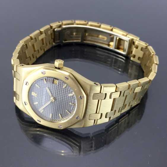 Audemars Piguet: Royal Oak Quartz Ladies Wristwatch. 18K Gold, date, Top, luxury, classic! - photo 3