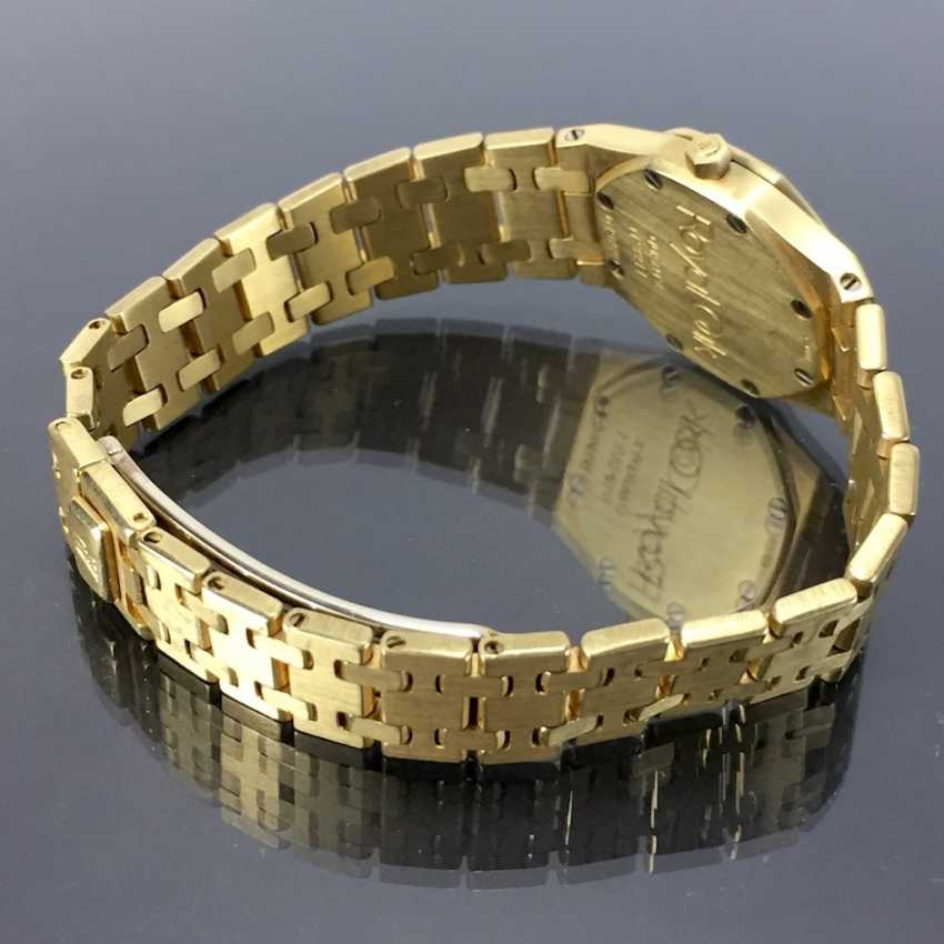 Audemars Piguet: Royal Oak Quartz Ladies Wristwatch. 18K Gold, date, Top, luxury, classic! - photo 4