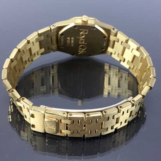 Audemars Piguet: Royal Oak Quartz Ladies Wristwatch. 18K Gold, date, Top, luxury, classic! - photo 5