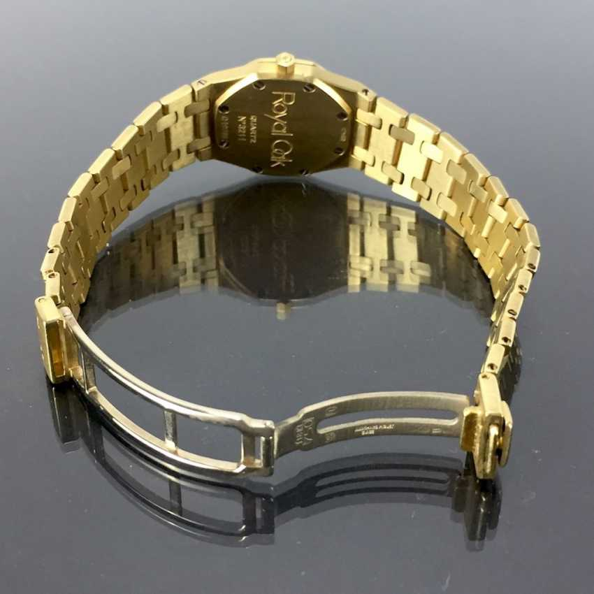Audemars Piguet: Royal Oak Quartz Ladies Wristwatch. 18K Gold, date, Top, luxury, classic! - photo 6