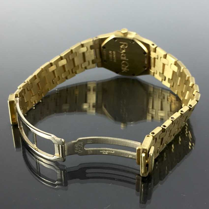 Audemars Piguet: Royal Oak Quartz Ladies Wristwatch. 18K Gold, date, Top, luxury, classic! - photo 7