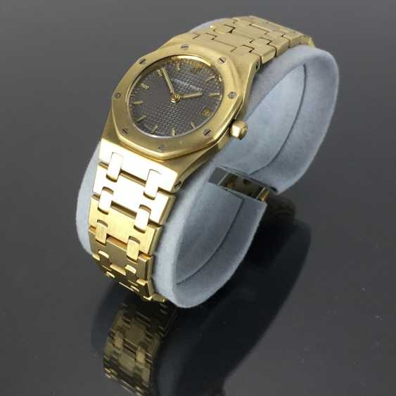 Audemars Piguet: Royal Oak Quartz Ladies Wristwatch. 18K Gold, date, Top, luxury, classic! - photo 10