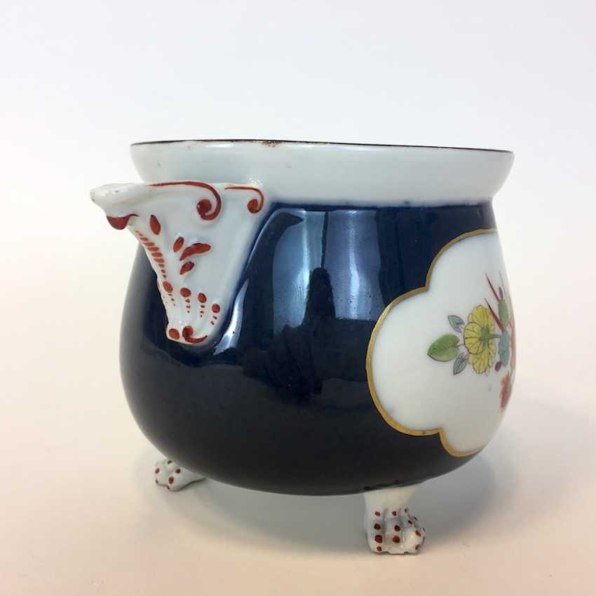 Very early and rare cream pot: Meissen porcelain, Oriental art decor. - photo 2