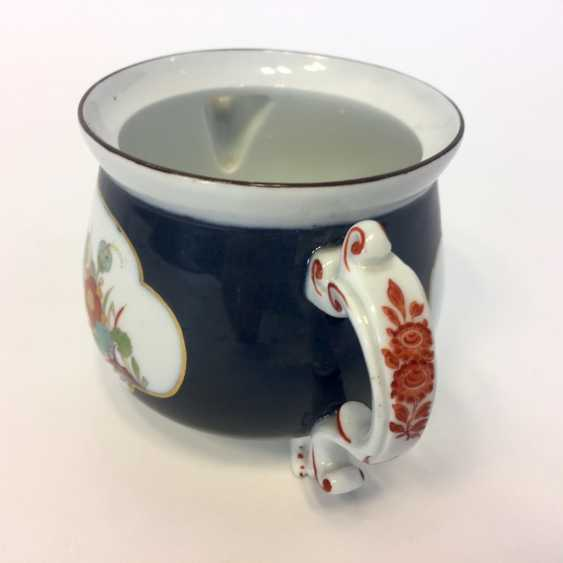Very early and rare cream pot: Meissen porcelain, Oriental art decor. - photo 4