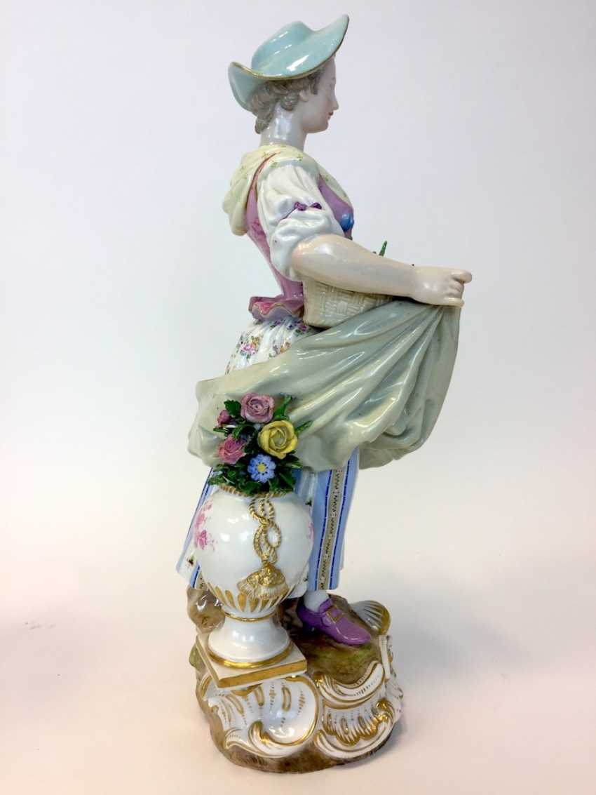 Ernst August, people, Ritz, for the Royal porcelain manufactory Meissen: a Pair of large gardener figures from courtly possession of, 187 - photo 6