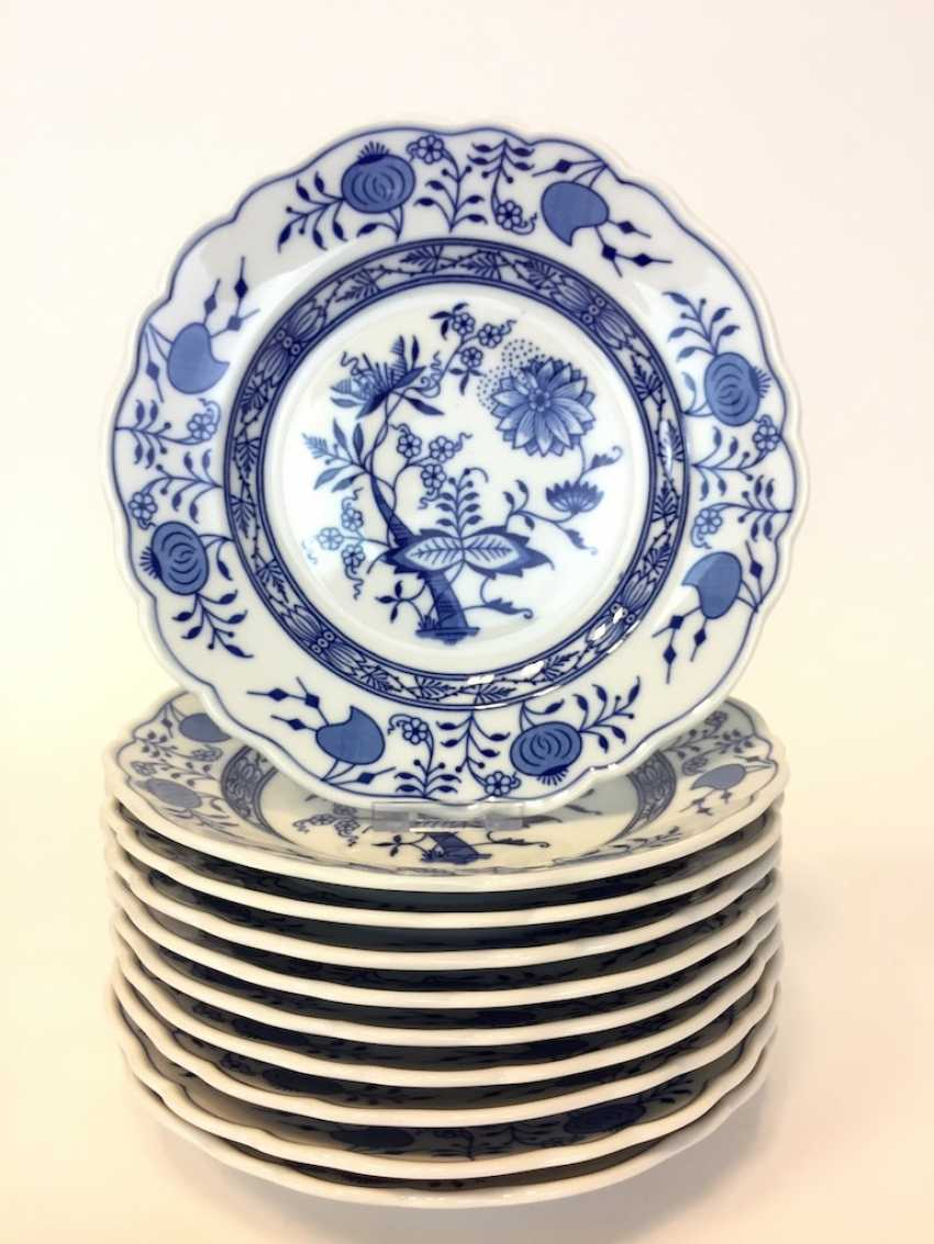 Ten Plates Onion Pattern - photo 1