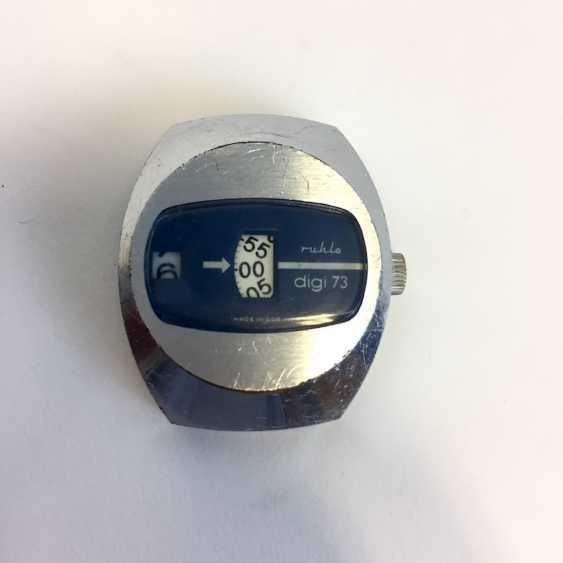 Mr bracelet watch: Ruhla digi 73 Scheibenuhr, as well as four watches. - photo 2