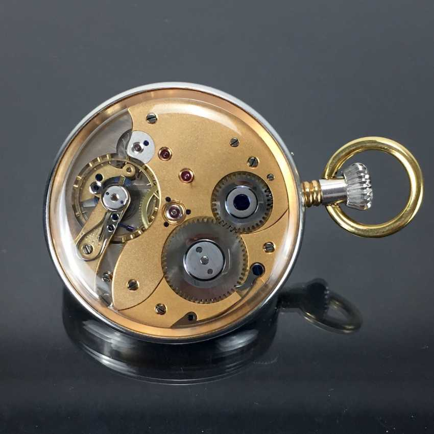 Mr pocket watch in a glass case - photo 2